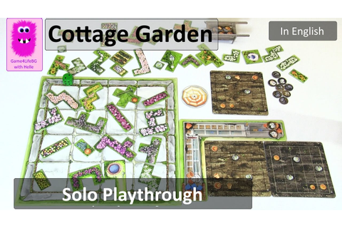 Cottage Garden, Solo Playthrough (In English, board game ...