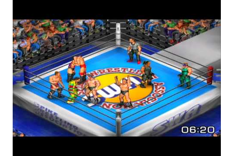 Fire Pro Wrestling Returns Game Sample - Playstation 2 ...