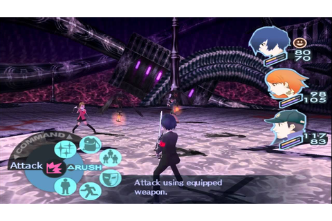 PCSX2 720p | Persona 3 FES (Widescreen Patch) Gameplay ...