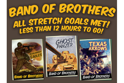 BAND OF BROTHERS WWII BOARD GAME SERIES by Worthington ...