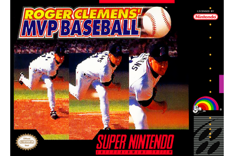 SNES A Day 82: Roger Clemens' MVP Baseball - SNES A Day