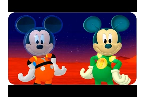 Mickey Mouse for Kids - Mickey Mouse Clubhouse Space ...