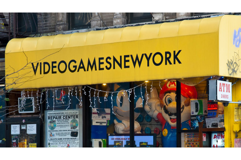 The Worlds Best Video Game Store! [Video Games New York ...