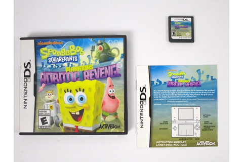 SpongeBob SquarePants: Plankton's Robotic Revenge game for ...