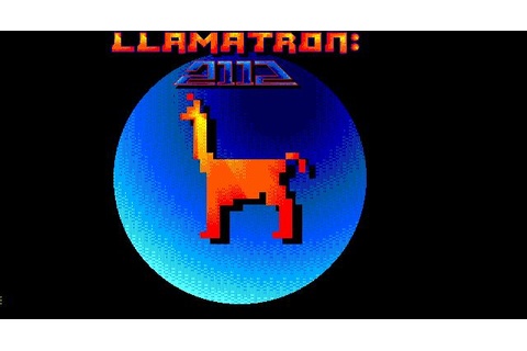 Llamatron: 2112 Download (1992 Arcade action Game)