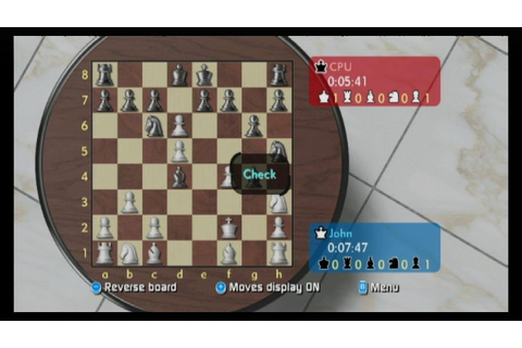 Wii Chess (Wii) News, Reviews, Trailer & Screenshots