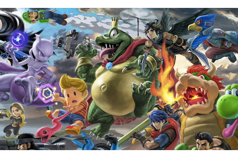 'Super Smash Bros. Ultimate' Announces Five New Fighters