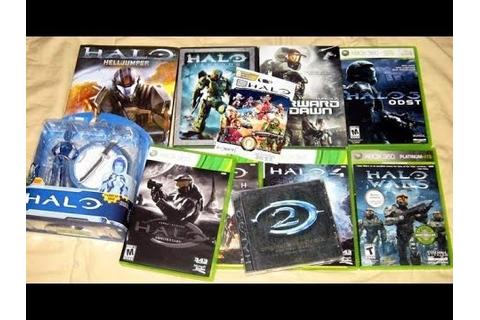 HALO Video Game Series Collection - YouTube