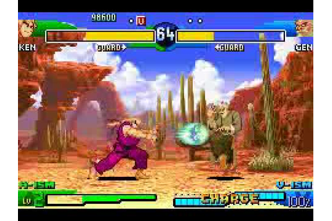 Street Fighter Alpha 3 Upper (Game Boy Advance) with ...