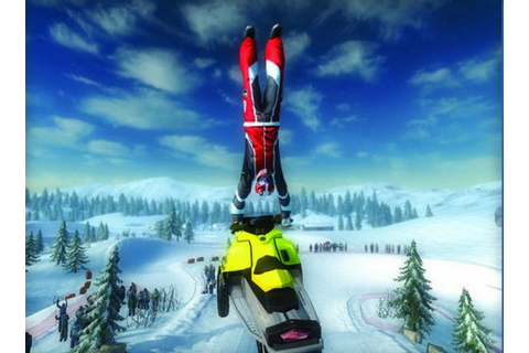 Ski Doo Snowmobile Challenge | Monstruous Games!