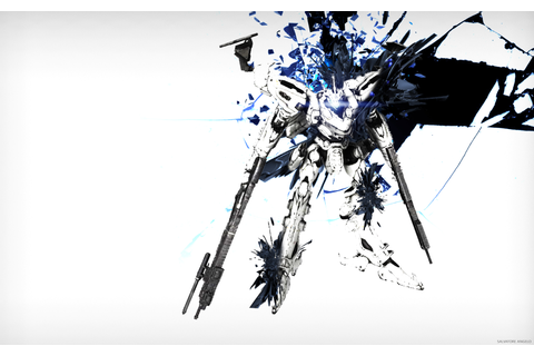 Armored Core 4: For Answer White Glint Wallpaper Full HD ...