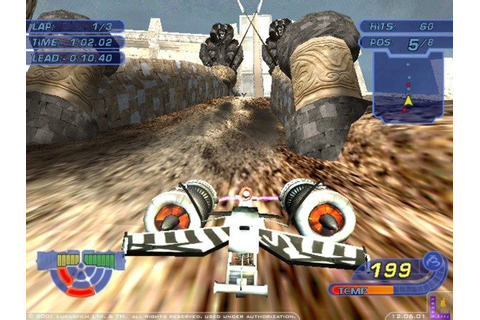 Star Wars: Racer Revenge (2002) by Rainbow Studios PS2 game