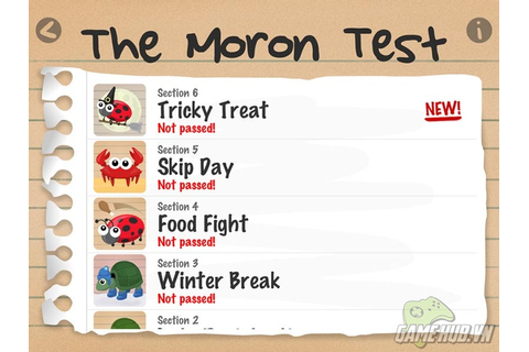 The Moron Test Game Cheats - Download Free Apps ...