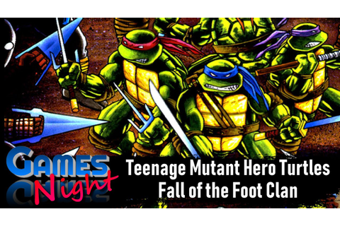 Teenage Mutant Hero Turtles: Fall of the Foot Clan (Game ...