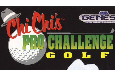 Classic Game Room - CHI CHI'S PRO CHALLENGE GOLF for Sega ...