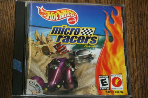 Hot Wheels • Micro Racers • PC CD-ROM Game • 2000 • Manual ...