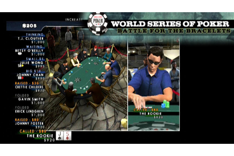 World Series of Poker 2008: Battle for the Bracelets ...