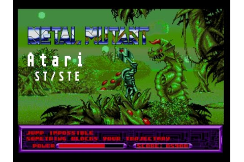 Metal Mutant - Atari ST (1991) - YouTube