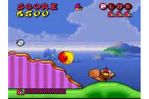 Plok (SNES) - YouTube