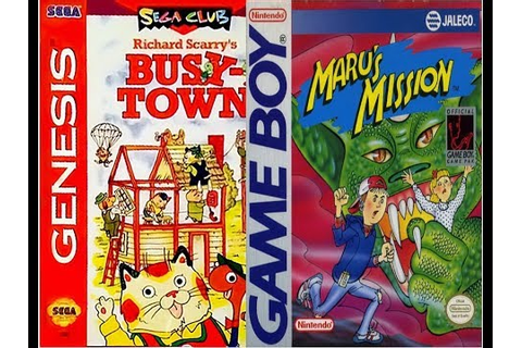 Random New Game - Maru's Mission + Richard Scarry's Busy ...