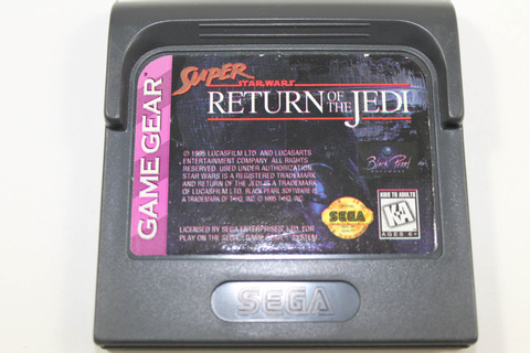 Super Star Wars Return of the Jedi - Sega Game Gear