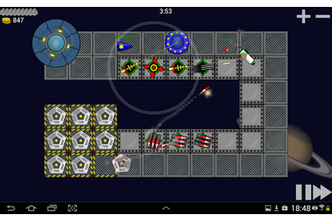 Space Raiders Tower Defense » Android Games 365 - Free ...
