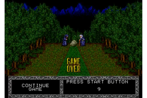 Fatal Labyrinth. Sega (1991) Sega Genesis | Games Revisited