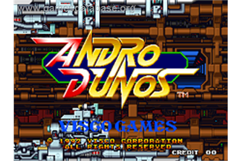 Andro Dunos - SNK Neo-Geo AES - Games Database