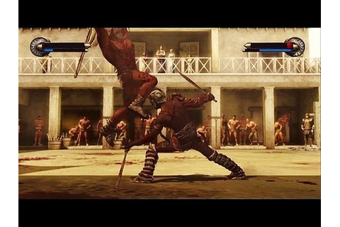 Spartacus Legends Gameplay For Xbox 360, First Look - YouTube