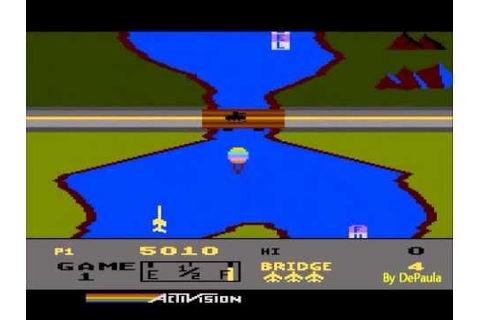 River Raid - Atari 5200 - YouTube