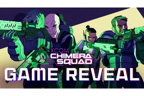 XCOM: Chimera Squad - Game Reveal Trailer - YouTube