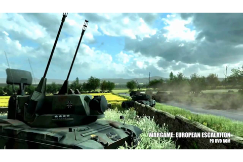 Trailer E3 - Wargame: European Escalation - YouTube