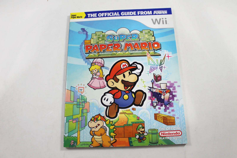 Super Paper Mario Official Strategy Guide - Nintendo Power
