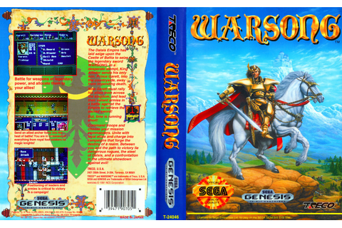Looking Back: Warsong, the Genesis game that beat Fire ...