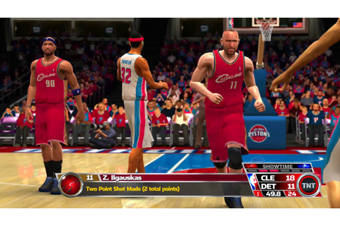 NBA 08 Games of The Week Cleveland Cavaliers vs Detroit ...