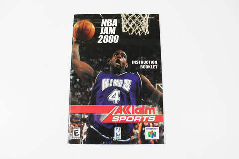 Manual - Nba Jam 2000 - Nintendo N64