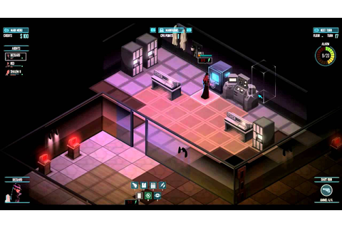 Invisible, Inc. Alpha Gameplay Trailer. - YouTube