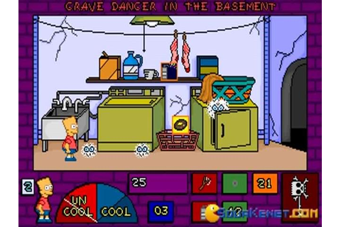 The Simpsons: Bart's House of Weirdness download PC