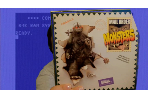 Mail Order Monsters (Commodore 64) - Crow Plays - YouTube