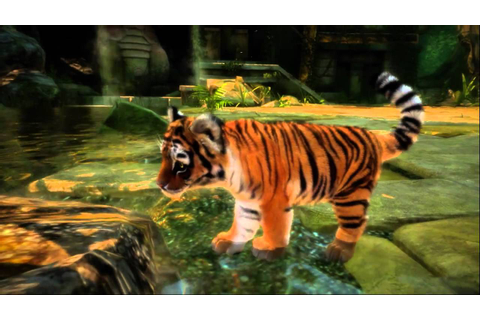 Official: Kinectimals cute animal cubs HD Kinect video ...
