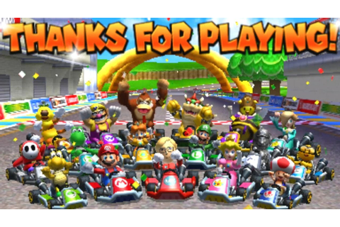 Mario Kart 7 - All Tracks 150cc (Full Race Gameplay) - YouTube