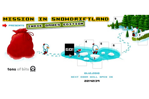 Mission in Snowdriftland: Indie Games Edition ...