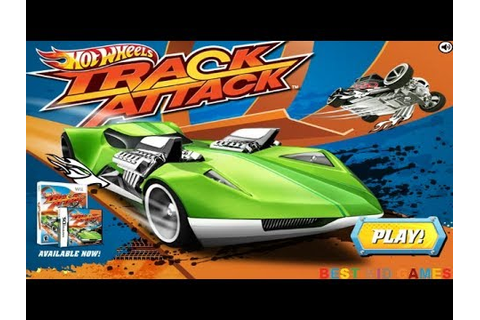 Hot Wheels Track Attack Game - Best Kid Games - YouTube