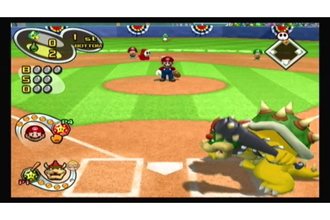 Mario Superstar Baseball Multiplayer - Game 1 - Yoshi ...