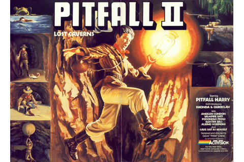 Atari 400 800 XL XE Pitfall! II - Lost Caverns : scans ...