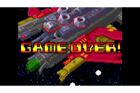 Omega Fighter Special [PS4/ACA] Game Over - YouTube