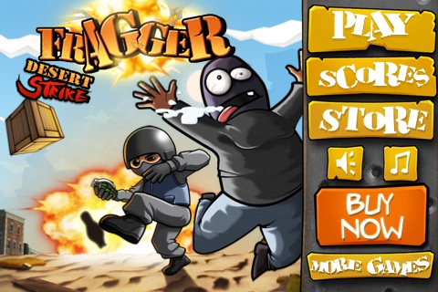 Fragger Desert Strike App - Free Apps King