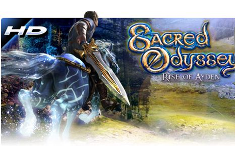 Games HD Android: Sacred Odyssey HVGA