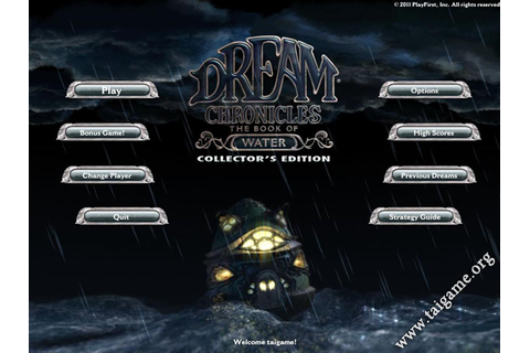 Dream Chronicles 5: The Book of Water Collector's Edition ...