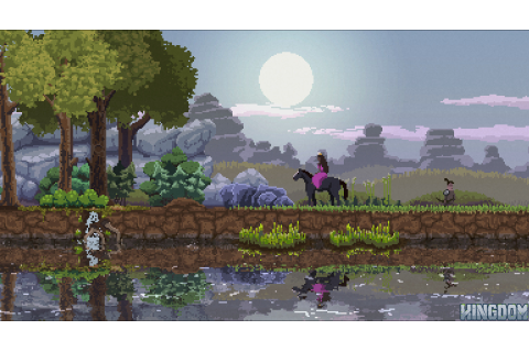 Kingdom Review Raw Fury Pixel Art Horseback 2D Strategy ...